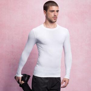 Gamegear-Men-039-s-Warmtex-Long-Sleeve-Baselayer-Second-Skin-Shirt-Top-KK979
