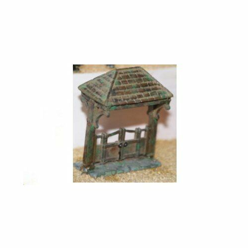 Lych Gate (suitable (suitable (suitable for churchyard) (OO Scale) - Unpainted - Langley F40 8fb6f2