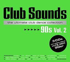 CLUB SOUNDS 90S,VOL.2 3 CD NEU