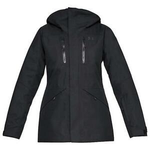 NEW UNDER ARMOUR EMERGENT JACKET UA ColdGear Insulated Women's S-M-L-XL Black