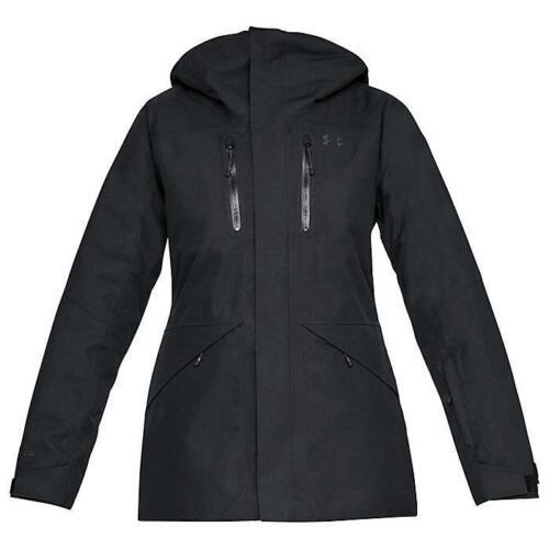 NEW UNDER ARMOUR EMERGENT JACKET UA ColdGear Insulated Women/'s S-M-L-XL Black