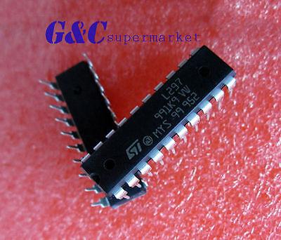 27PCS L297 ST IC STEPPER MOTOR CTRLR 20-DIP NEW GOOD QUALITY