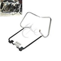 Saddlebag Guard Bracket Set W/ Support Bar For Harley Touring Model 1997-2008 07