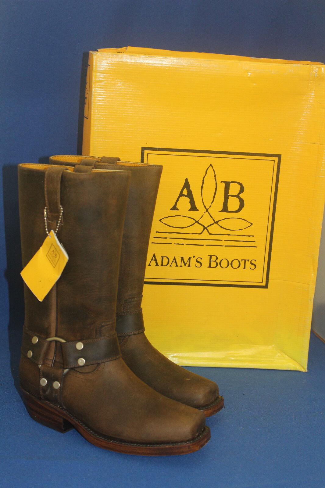 Adam botas botas motorista engineer calidad superior superior calidad botas de vaquero de cuero nuevo talla. 37 6f47a0