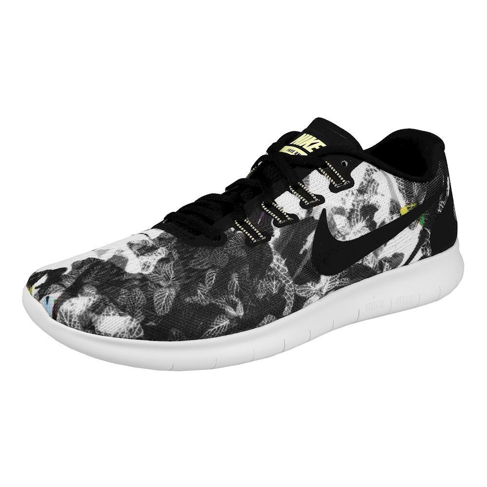 Nike Free RN Train 2017 Solstice Men's Running Train RN Shoes Black/White/Volt 883294 001 aeefa0