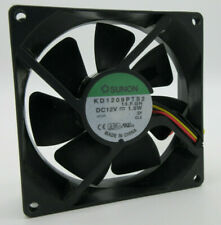 "SUNON Cooling fan 8025 KDE2408PTS1-6A DC24V 3.4W 8025 8CM 80x80x25mm 3.2x3.2x1/"""