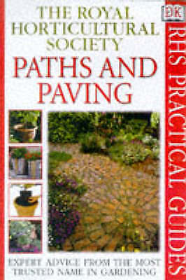 """""""AS NEW"""" Paths and Paving (RHS Practicals), Royal Horticultural Society, Book"""