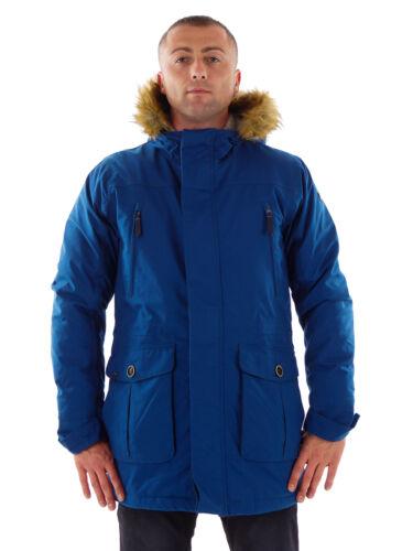 CMP Parka Wintermantel Funktionsjacke blau Fell ClimaProtect® wärmend