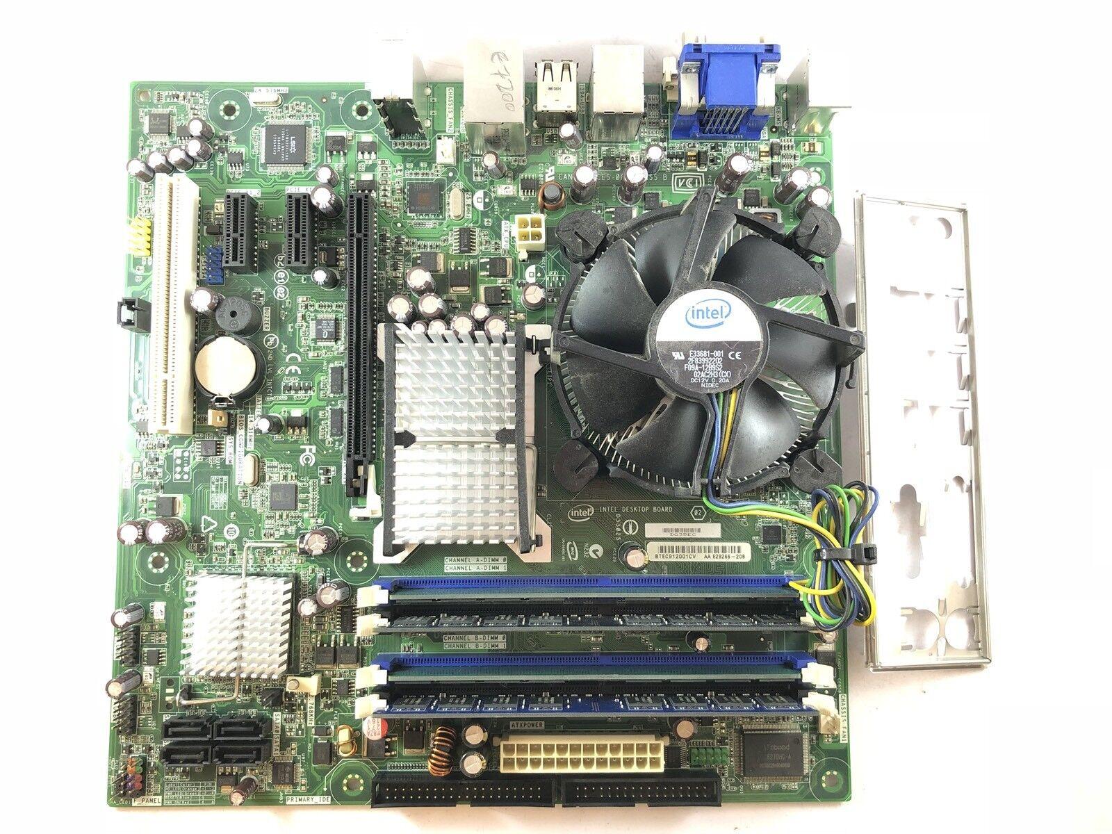 Intel DG31PR D97573-301 Socket 775 Motherboard With Dual Core E2200 2.20 GHz Cpu