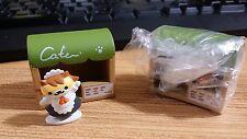 Neko Atsume Kitty Collector Desktop Cafe-san Sassy Fran Cardboard Deluxe Figure