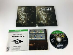 Fallout-4-Steelbook-Edition-Case-from-Pipboy-Edition-w-Game-Xbox-One