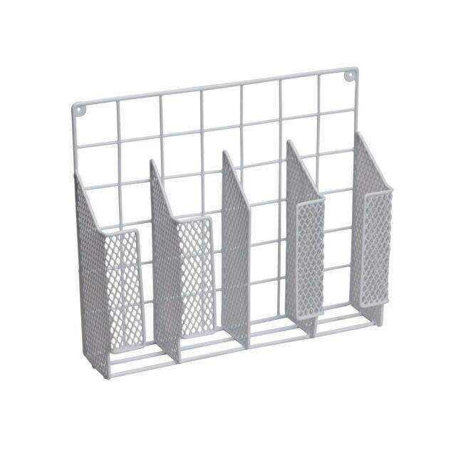 mDesign Kitchen Storage Organizer for Aluminum Foil Sandwich Bags