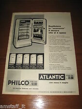 *58=ATLANTIC FRIGORIFERO=ANNI '50=PUBBLICITA'=ADVERTISING=WERBUNG=PUBLICITE=