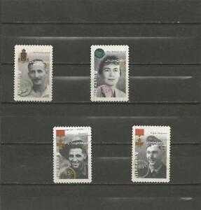 AUSTRALIA-1995-Personalities-from-the-World-War-II-NICE-USED-COMPLETE-SET