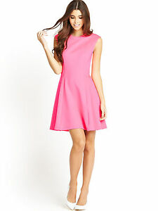 34f1ee32cc9459 NWT Ted Baker Pink Nistee Skater Dress Side Pleats  248 – Ted Size 4 ...