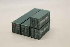 Athearn-27893-CHINA-SHIPPING-Containers-Pack-of-2-x-40-039-2-x-20-039-HO-Railway-V23