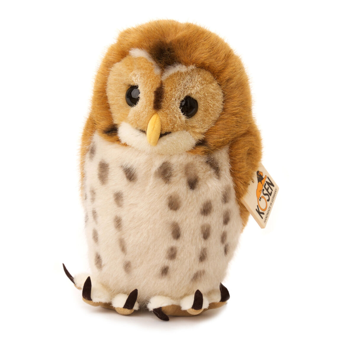 Tawny Owl plush collectable soft toy - Kosen   Kösen - 5400 - 22cm