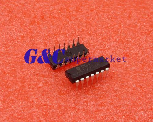 50PCS HA17324 HA17324A 17324 IC LOW POWER QUAD OP AMP