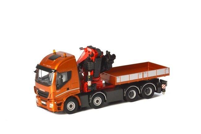 Iveco - stralis fassi 1100 + ballast box - pritsche kran 04-1167-2127 m  1  50