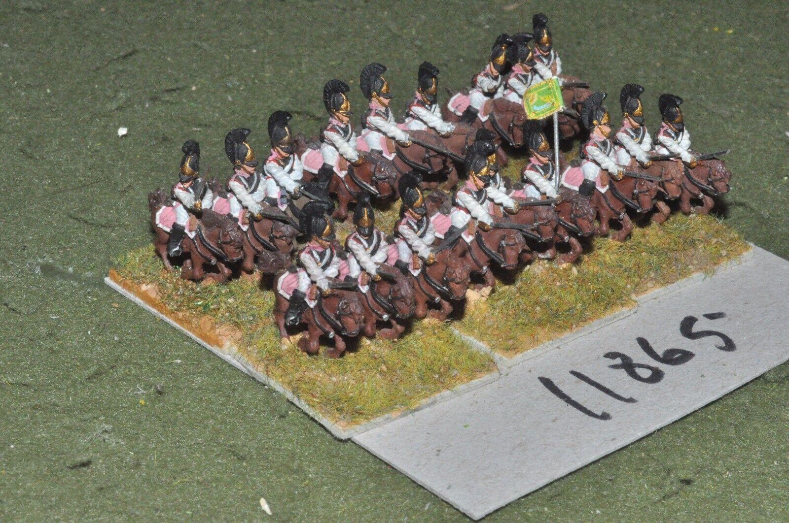 15mm napoleonic   russian - cuirassiers 18 cavalry - cav (11865)