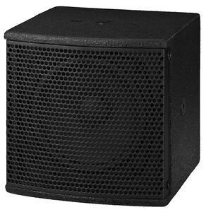 Monacor-Miniatur-PA-Lautsprecherbox-60-WMAX-8-PAB-305-SW