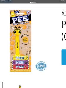 2021 Bee Different Yellow Crystal Pez Dispenser MIP US Release Limited