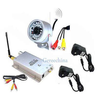 Wireless camera +wireless receiver Home Security System ,IR night vision camera