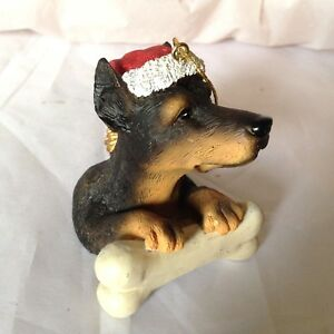 Ganz-Dog-Christmas-tree-Ornament-Doberman-Pinscher-with-Santa-Hat-and-Bone-206