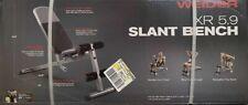 Weider XR 5.9 Adjustable Slant Workout Bench - WEBE4869