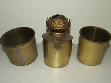 Antique Lot of Brass Kerosene Oil Burners Parts