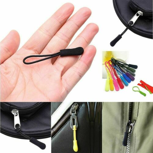 10Pc EDC Outdoor Zipper Pulls Slider Cord Rope Puller For Y3S7 Buckle Ends M3S0