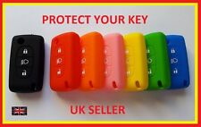 CITROEN C4 C5 C6 C8 KEY FOB SOFT SILICONE COVER 3 BUTTON CASE WITH LIGHT REMOTE