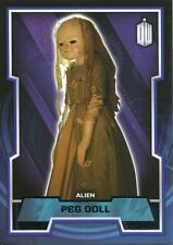Doctor Who 2015 Base Card #89 Peg Doll