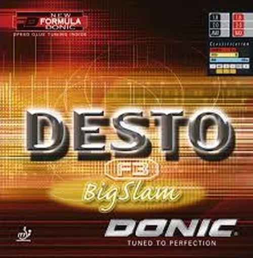 Donic Donic Donic  Desto F3 Big Slam   Rot   Schwarz 1,8 - max.mm 591471