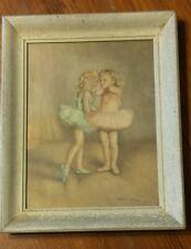 Vintage Fried Pal Little Ballerinas Framed Print