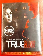 ~NIB~ SEALED HBO SERIES TRUE BLOOD COMPLETE SECOND SEASON