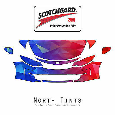 3M Scotchgard Paint Protection Film Clear Bra Pre-Cut Fits 2014 2015 Kia Optima