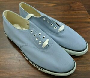 NIB-New-Brooks-Brothers-Mens-Shoes-Blue-Chambray-Size-11-5D