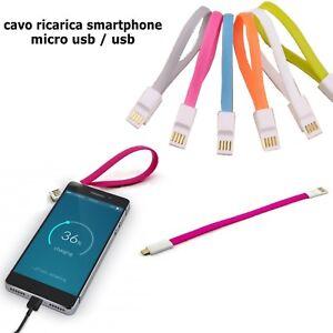Cavo mini cavetto Usb Micro Usb carica batterie dati per