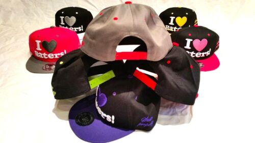 ladies baseball hats hip hop bling mens Original I love haters snapback caps