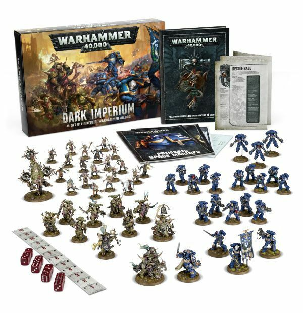 WARHAMMER  40,000 DARK IMPERIUM - GAMES WORKSHOP  livraison gratuite!