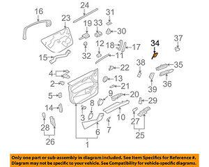 AUDI OEM 07-15 Q7 Front Door-Lock Switch 4L1962107B5PR | eBay