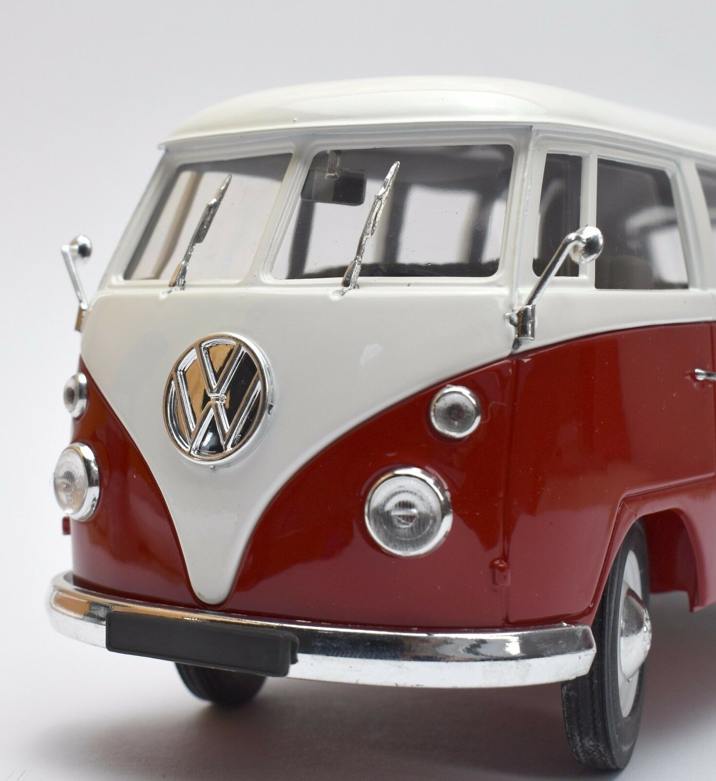 Solido Classic VW Volkswagen t1 Bulli in rouge Painted  blanc, OVP, 1 18, k012  distribution globale