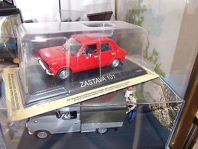 Zastava Z 101 dérivé Fiat 128 1971-2008 1//43 Neuf Blister Ixo DeAgostini