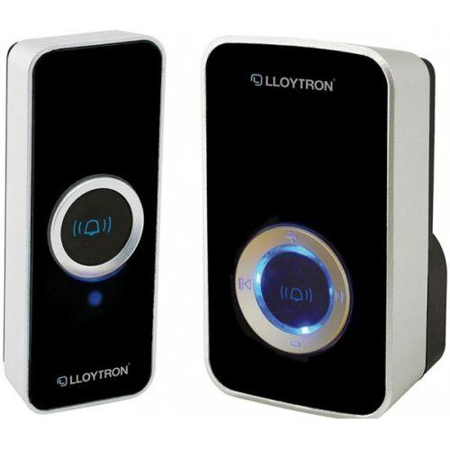 LLOYTRON PLUG IN DOOR BELL B7505BK BLACK 32 MELODY DOOR CHIMEVARIABLE VOLUME NEW