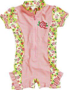 Playshoes-Tuta-intera-rose-costume-da-bagno-standanzug-protezione-UV-poliammide