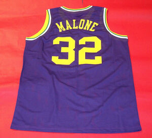 e623a2624a5 Image is loading KARL-MALONE-CUSTOM-UTAH-JAZZ-THROWBACK-JERSEY-THE-