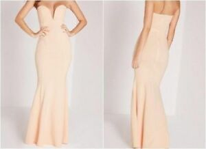 MISSGUIDED-Scuba-Bandeau-Fishtail-Maxi-Dress-in-Nude-camg133-2