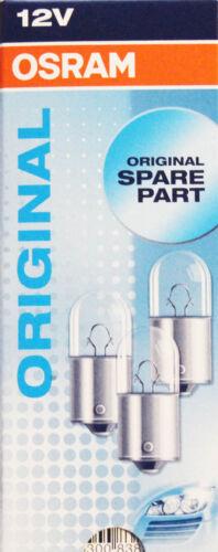 10 Stk OSRAM R10W 10 Watt 12 Volt PKW Auto Lampe Licht Schluß Kennzeichen 12V