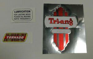 Set-of-Triang-Tri-ang-Scooter-Tornado-logo-stickers-decals-for-restoration